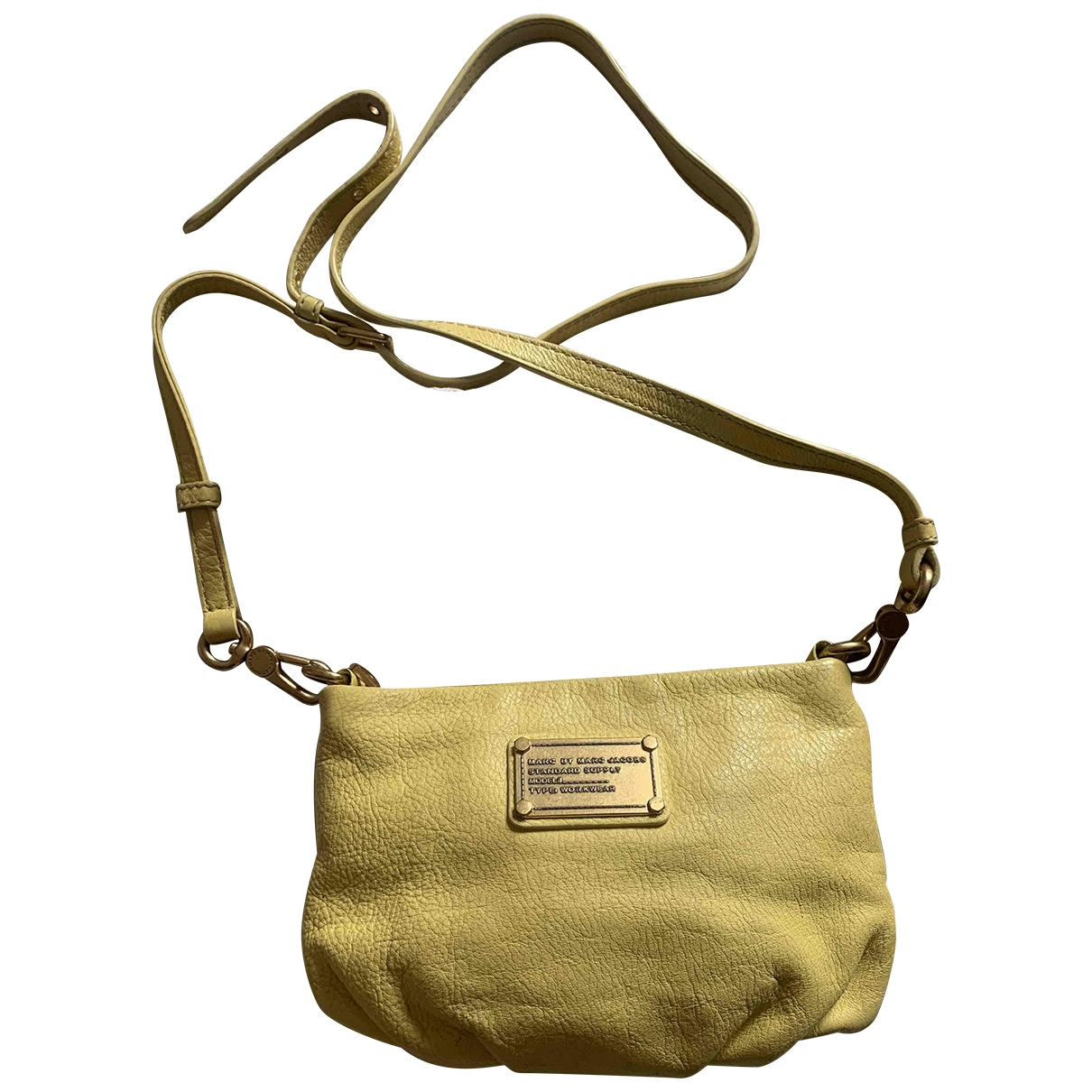 Marc By Marc Jacobs \N Yellow Leather handbag for Women \N