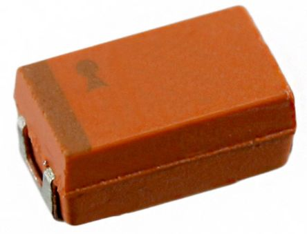 AVX Tantalum Capacitor 3.3μF 35V dc Tantalum Solid ±10% Tolerance , TAJ (500)