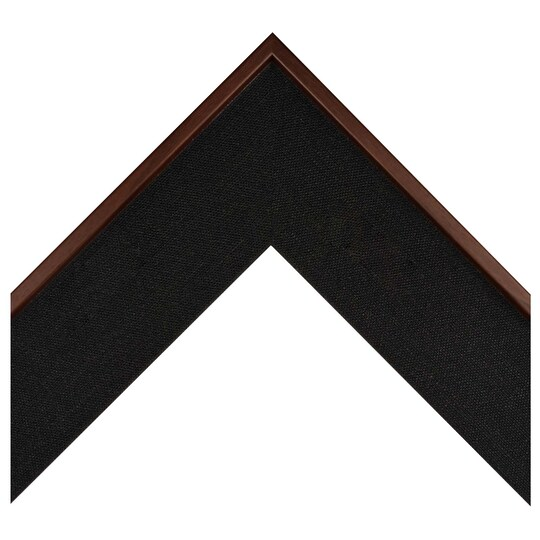 Medium Walnut Black Fabric Wrapped Custom Frame By Michaels® | 8 X 10 | MDF