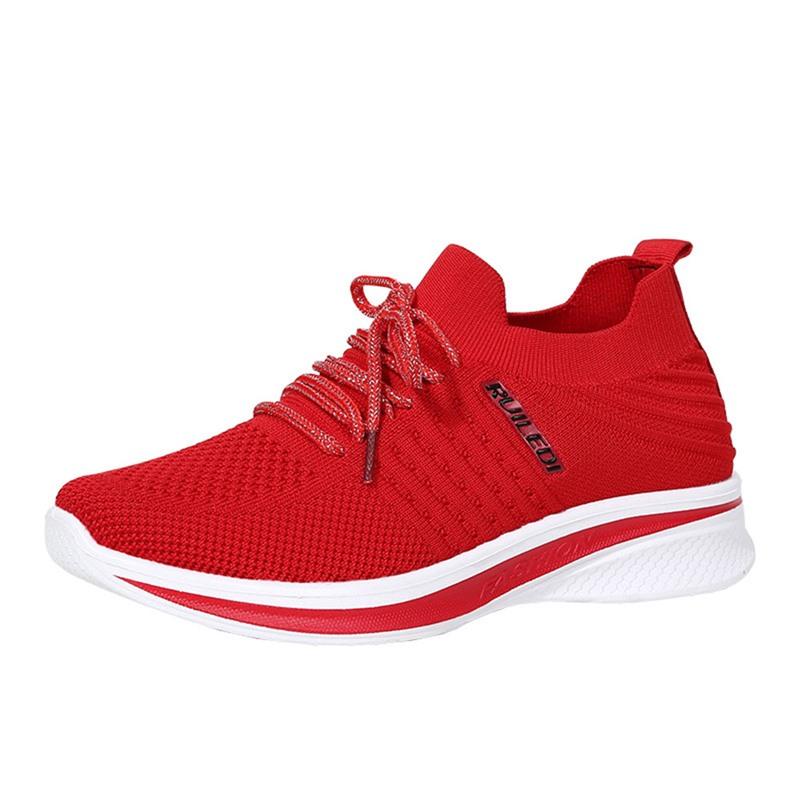 Ericdress Low-Cut Upper Cross Strap Round Toe Color Block Sneakers