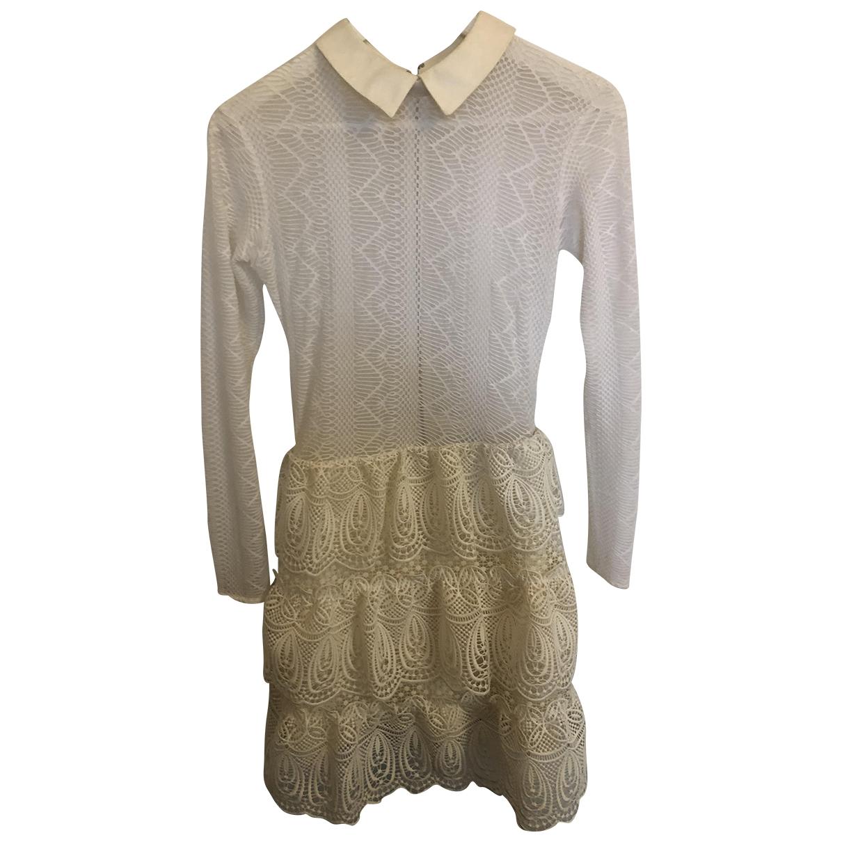 Self Portrait \N White Lace dress for Women 10 UK