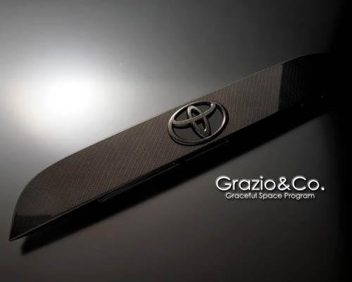 Grazio & Co. GRAZ-86-CRG Carbon Look Rear Garnish Subaru BRZ / Scion FR-S 13+