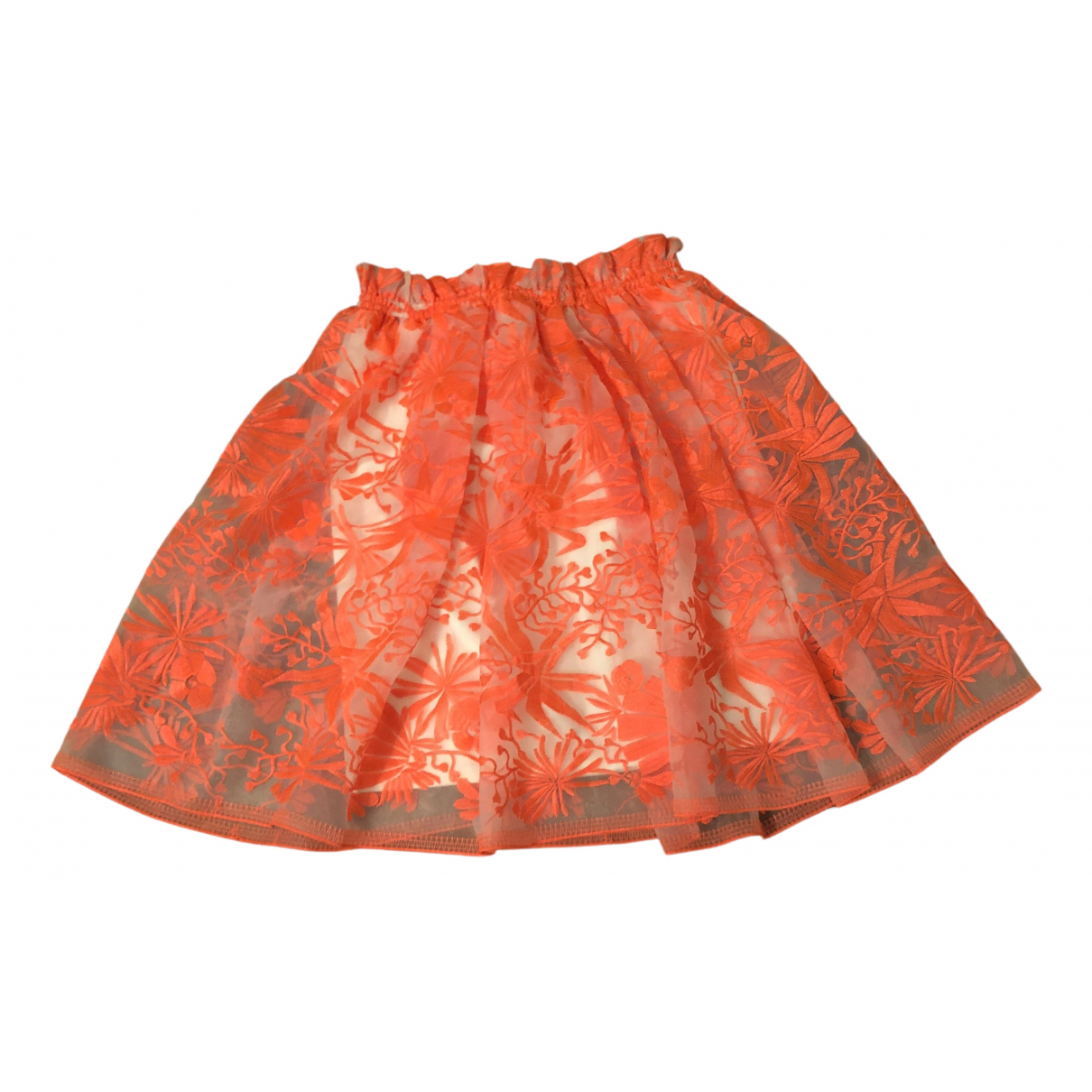 Maje \N Orange skirt for Women 36 FR