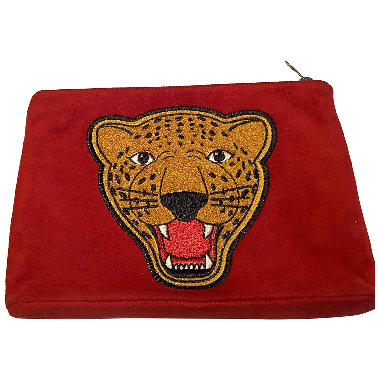 Charlotte Olympia \N Red Suede Clutch bag for Women \N
