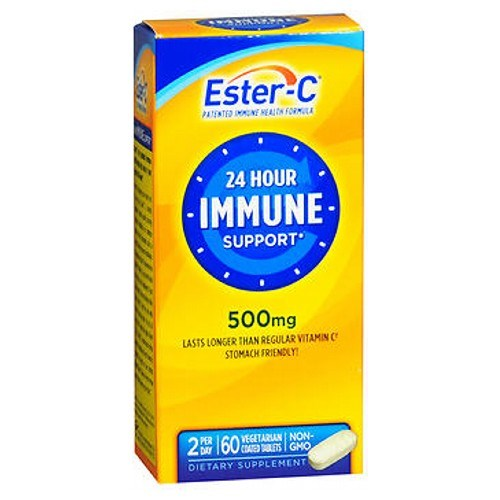 Ester-C Vitamin C Coated Tablets 60 ct by Ester-C