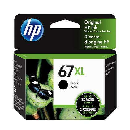 HP 67XL 3YM57AN cartouche d'encre originale noire haute capacité