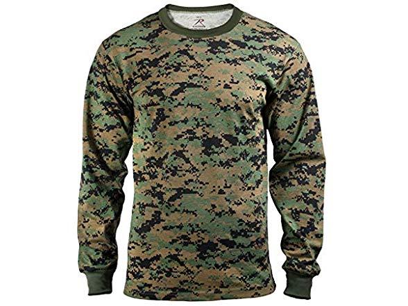 Rothco Long Sleeve Digital Camo T Shirt