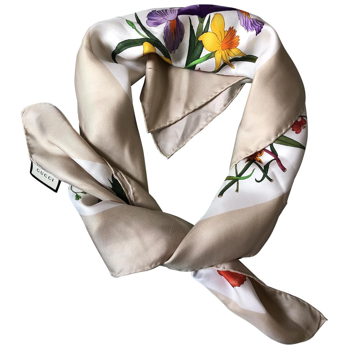 Gucci \N Multicolour Silk scarf for Women \N