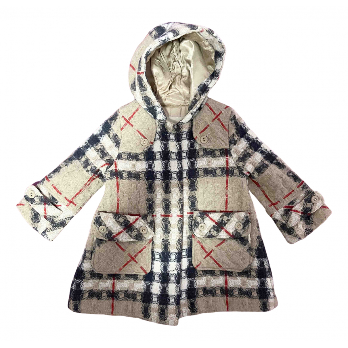 Burberry \N Beige Wool jacket & coat for Kids 18 months - up to 81cm FR