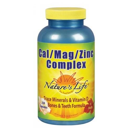 Cal-Mag-Zinc 250 caps by Nature's Life