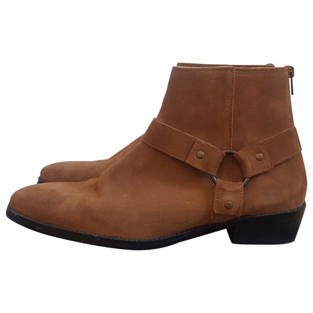 Asos \N Brown Suede Boots for Men 10.5 US