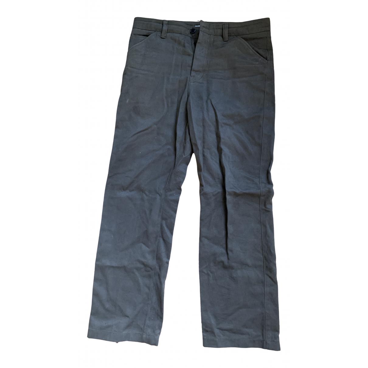 Acne Studios \N Brown Cotton Trousers for Men 50 IT