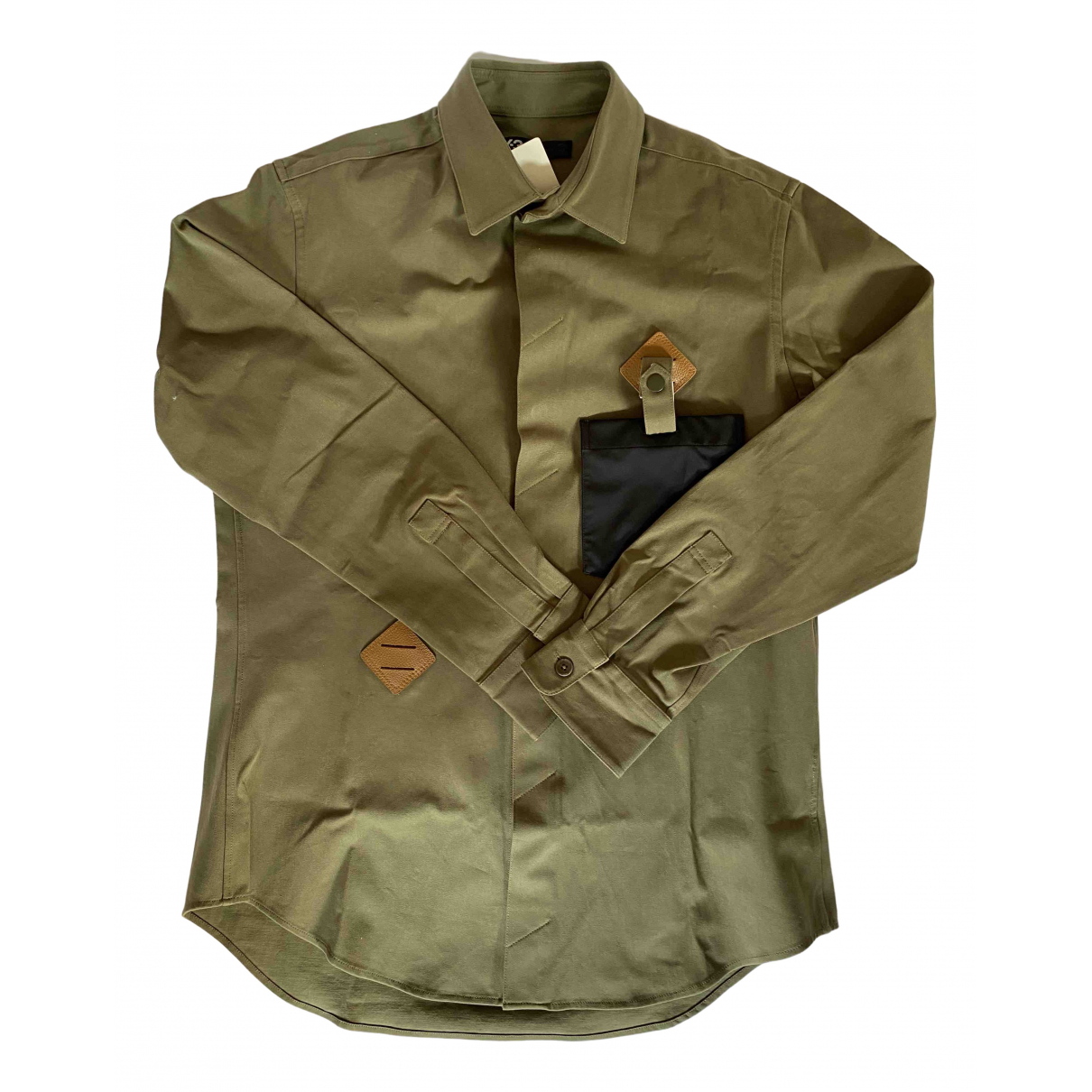 Y-3 By Yohji Yamamoto \N Khaki Shirts for Men M International