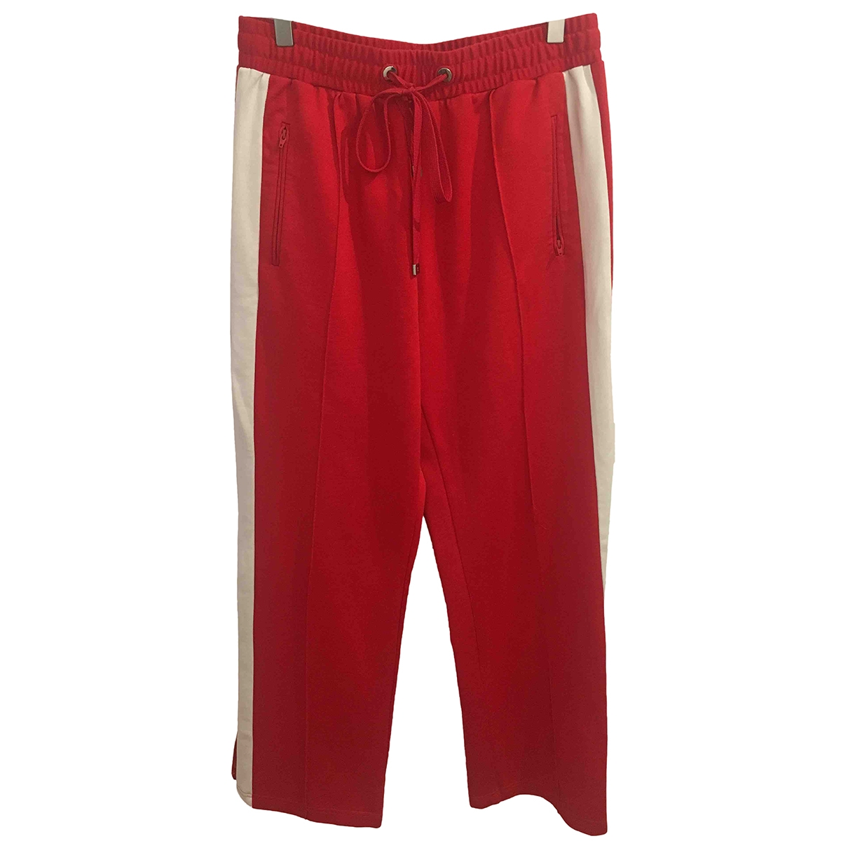 Mo&co \N Red Trousers for Women L International