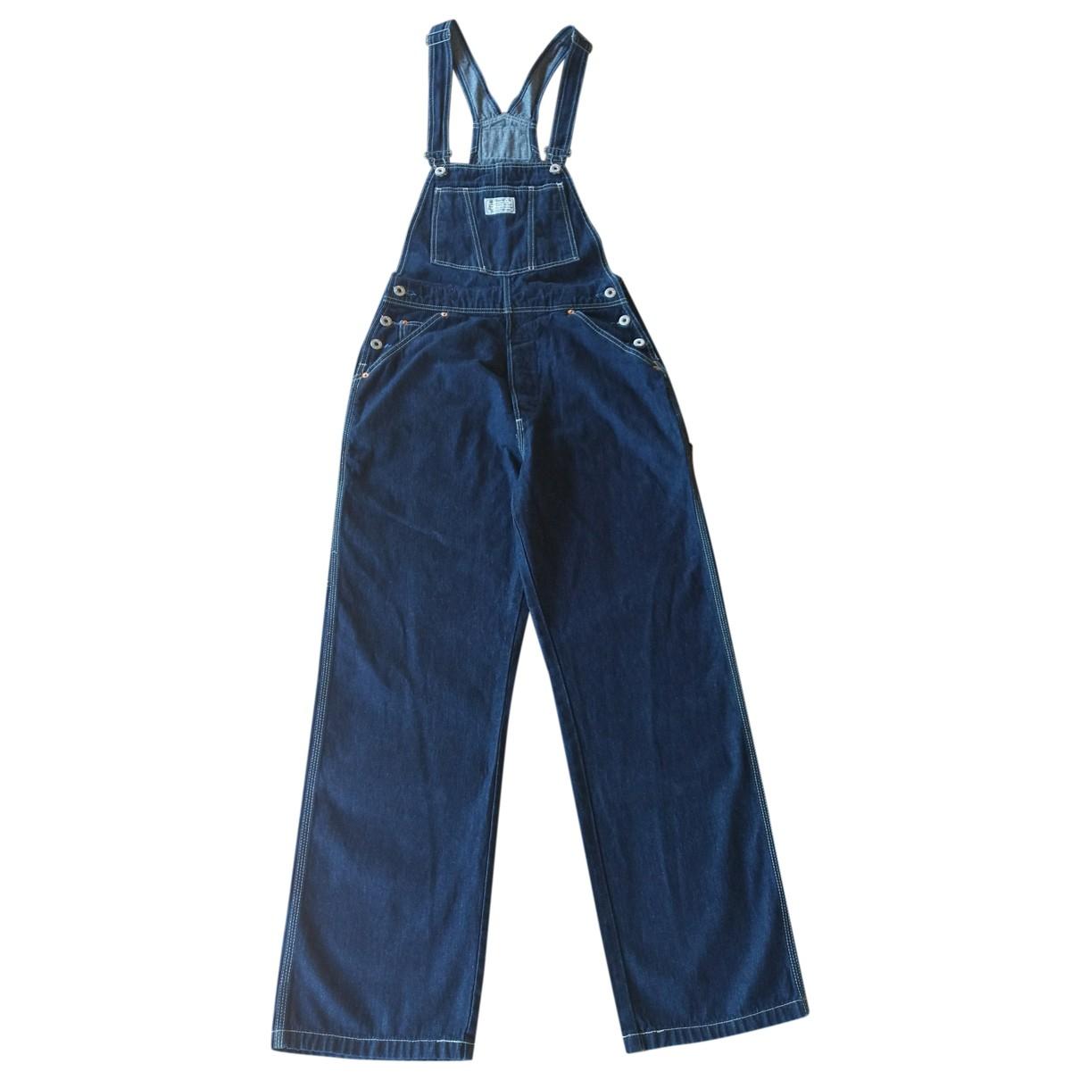 Levi's \N Blue Cotton jumpsuit for Women 31 US