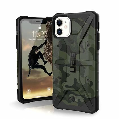 Pathfinder Rugged Case Forest Camo pour iPhone 11 - UAG