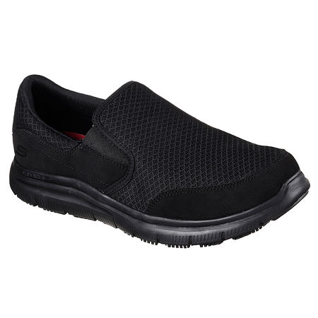 Skechers McAllen Mens Work Shoes, 13 Medium, Black