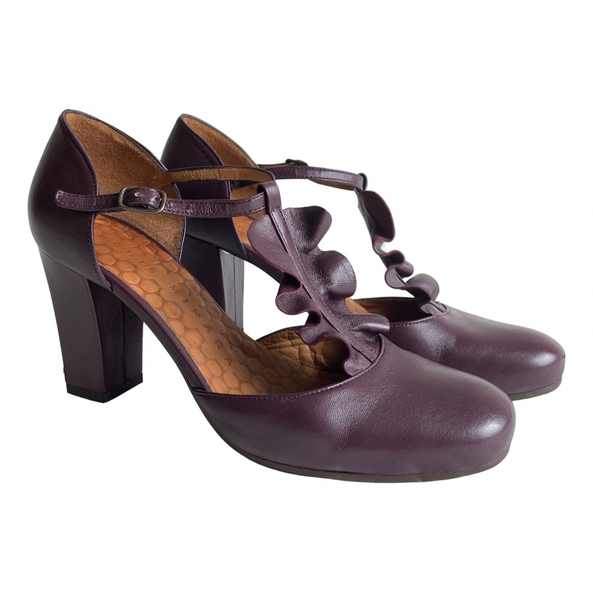 Chie Mihara \N Leather Heels for Women 38 IT