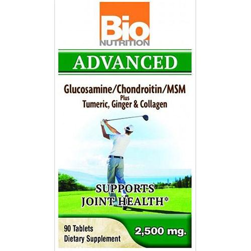 Advance Glucosamine 90 Tabs by Bio Nutrition Inc