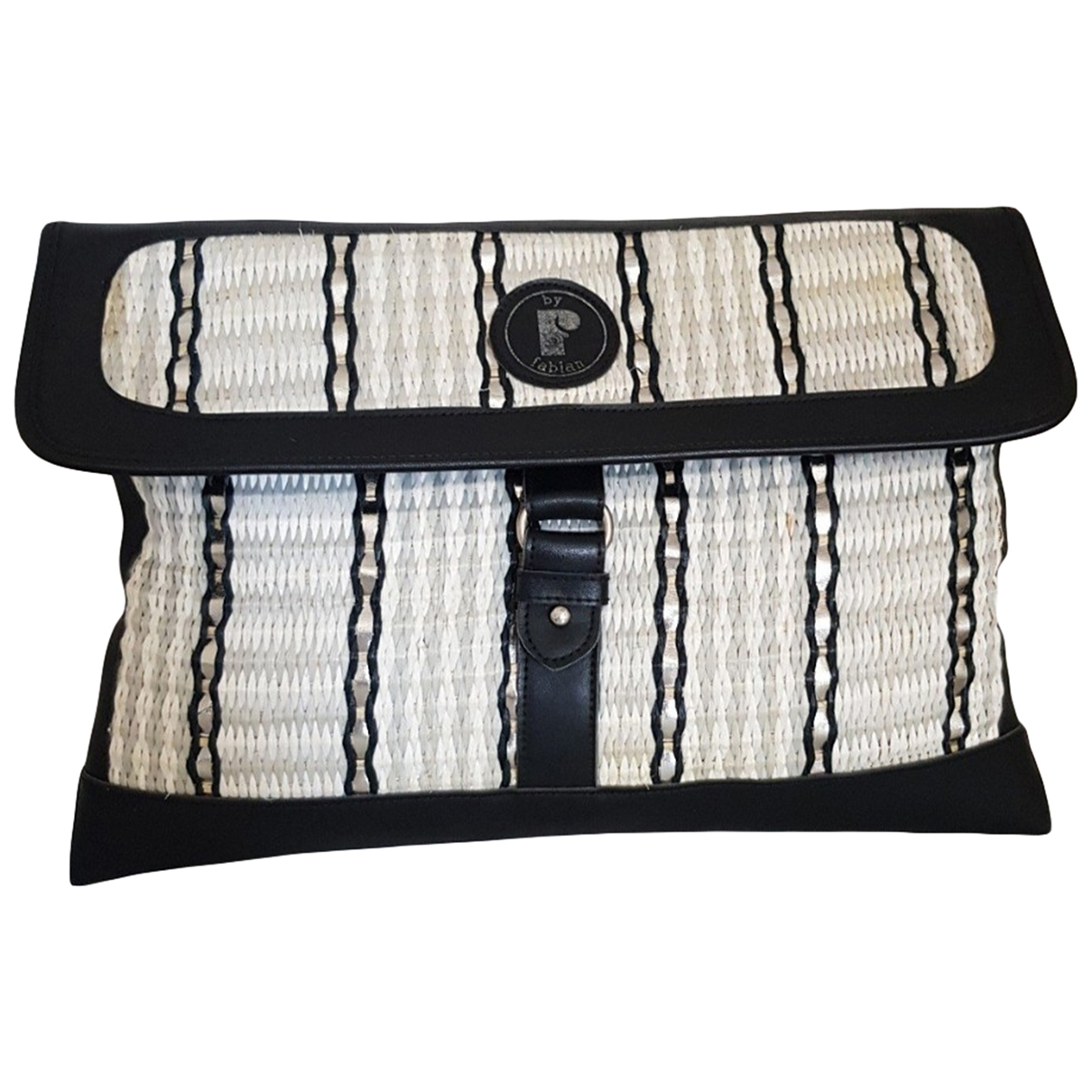 Non Signé / Unsigned \N White Cloth Clutch bag for Women \N