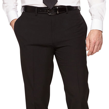 Van Heusen Mens Stretch Slim Fit Suit Pants, 34 32, Black