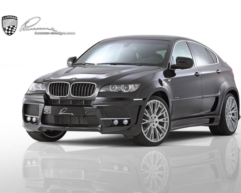 LUMMA Roof Railing Coating in Silver Matte for BMW X6 09-15