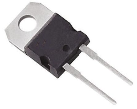 IXYS 1000V 12A, Silicon Junction Diode, 2-Pin TO-220AC DSEI12-10A (2)
