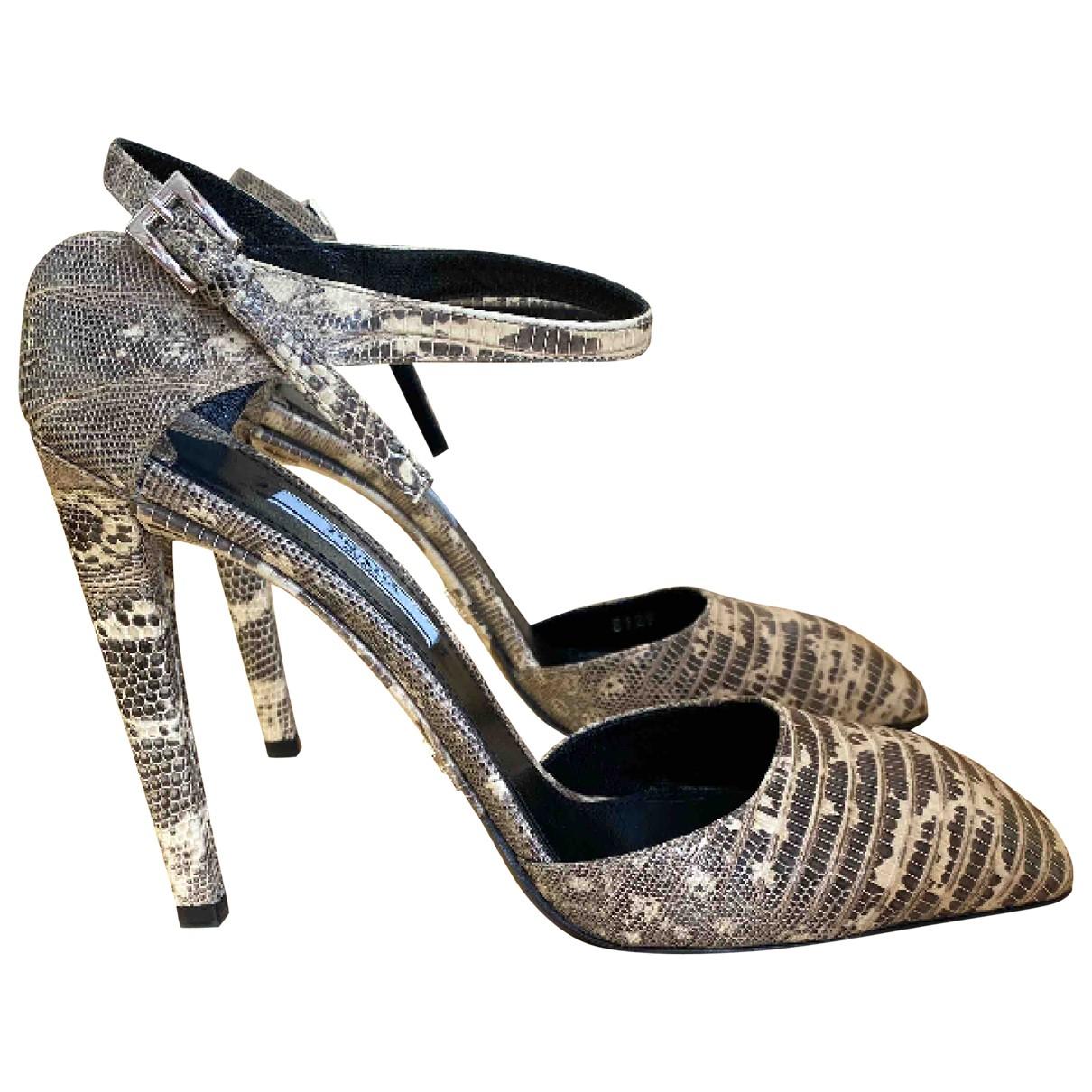 Prada \N Multicolour Crocodile Heels for Women 40 EU