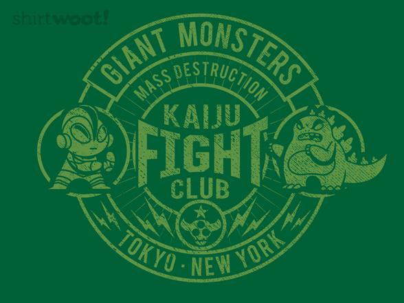 Kaiju Fight Club T Shirt