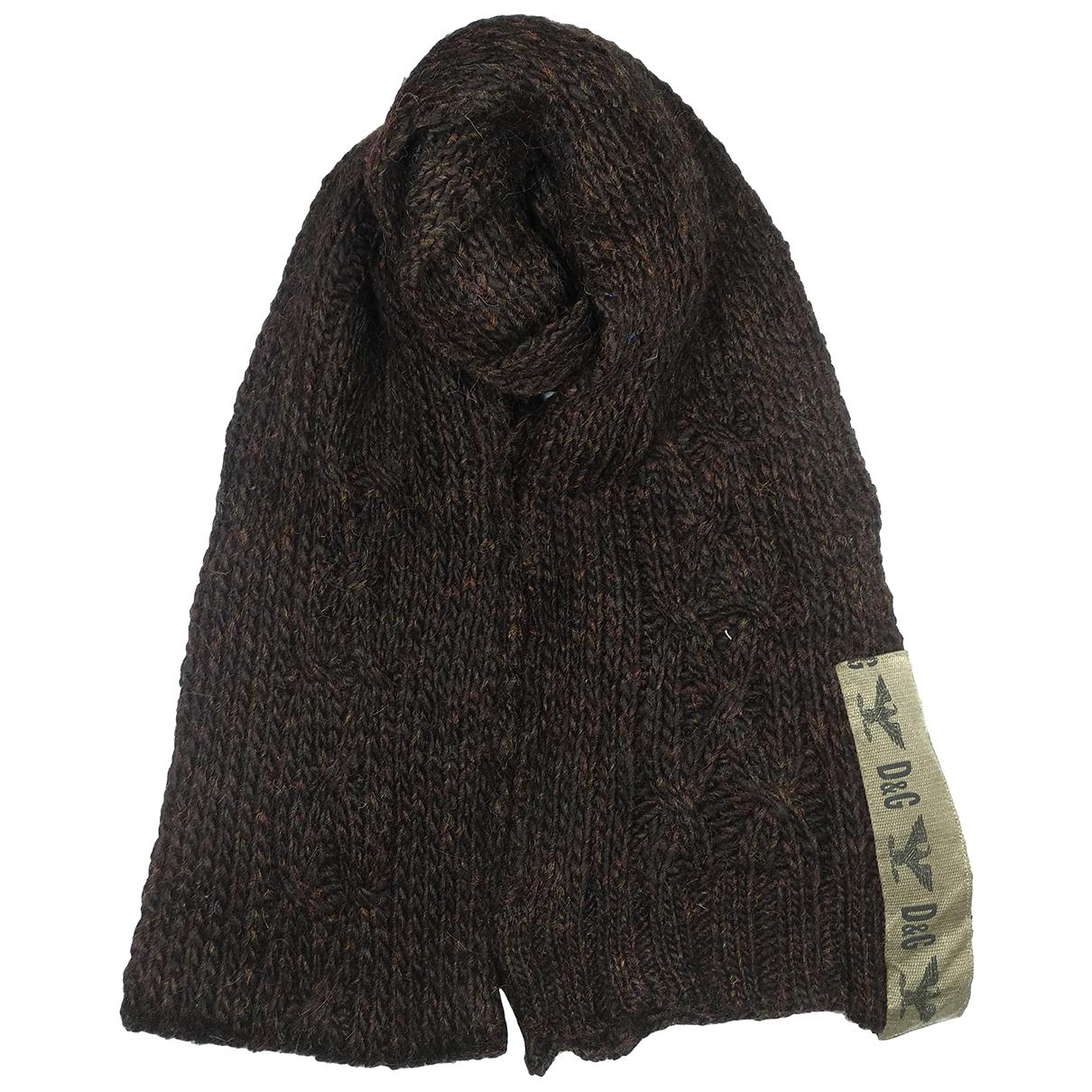 D&g \N Brown Wool scarf for Women \N