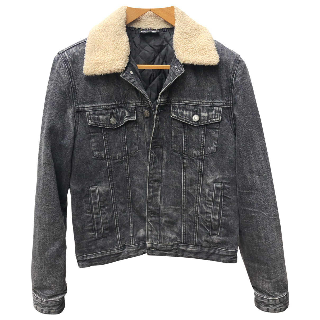 The Kooples Fall Winter 2019 Anthracite Cotton jacket  for Men S International