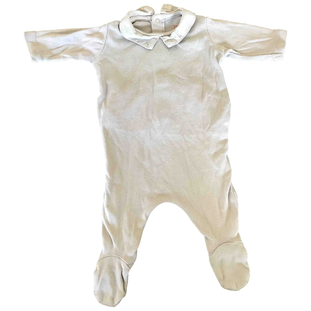 Bonton \N Grey Cotton Outfits for Kids 1 months - up to 55cm FR