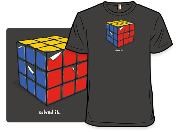 Solved It T Shirt