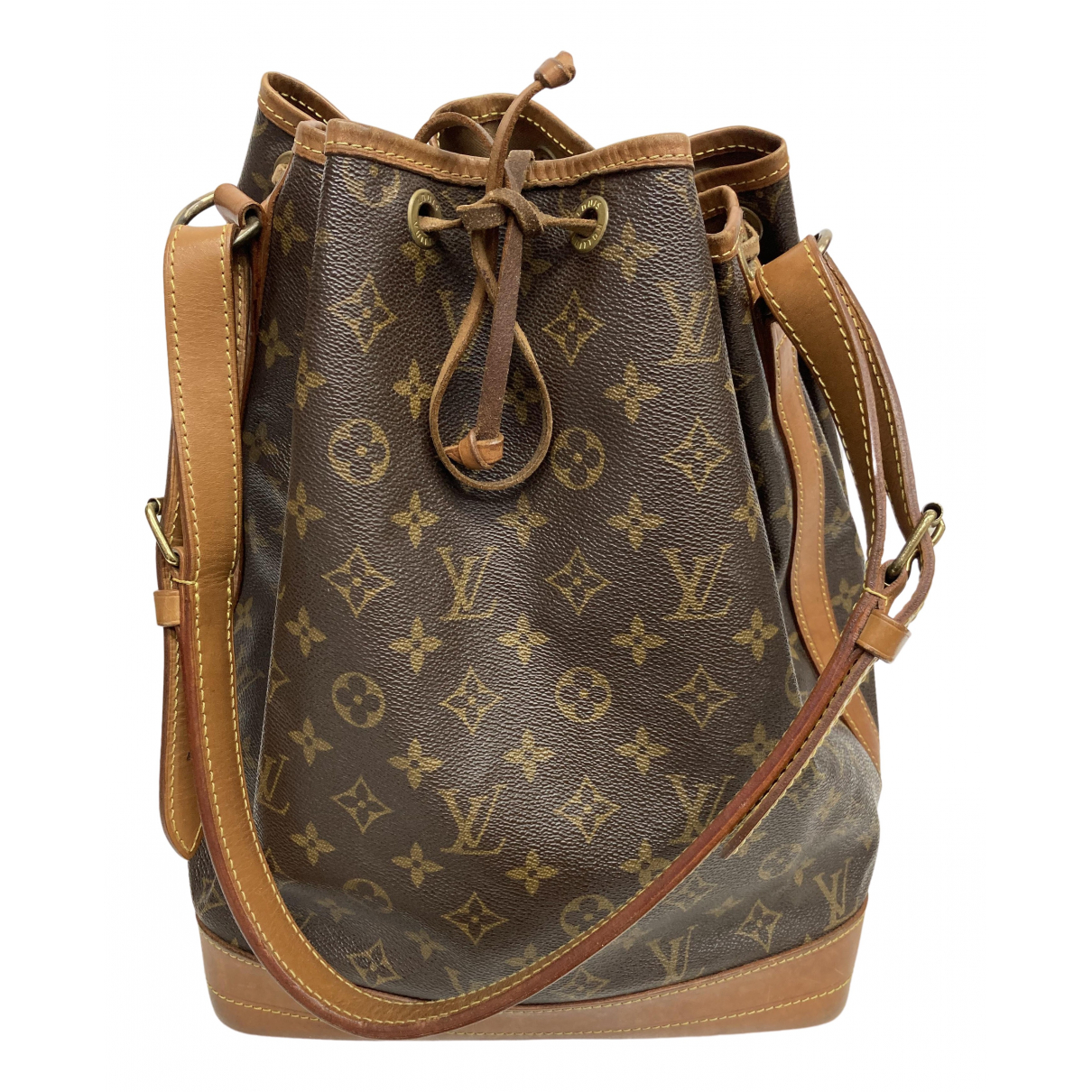 Louis Vuitton Noé Brown Cloth handbag for Women \N
