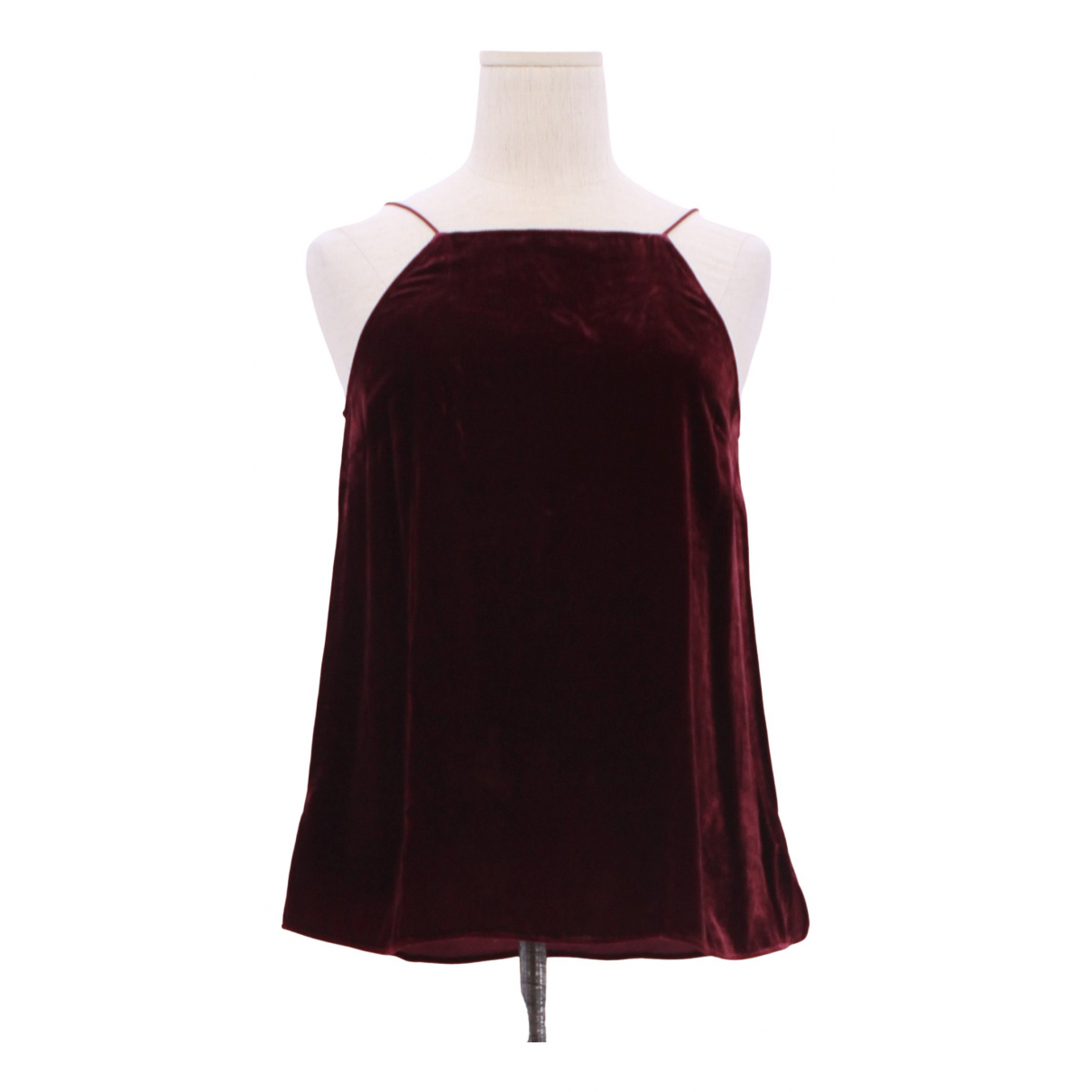 Non Signé / Unsigned \N Burgundy  top for Women XS International