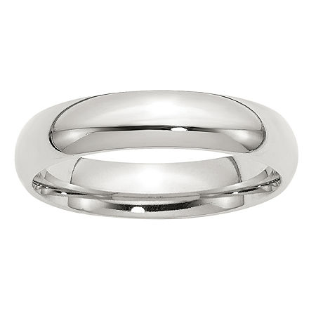 Personalized 5MM Sterling Silver Wedding Band, 11 , No Color Family