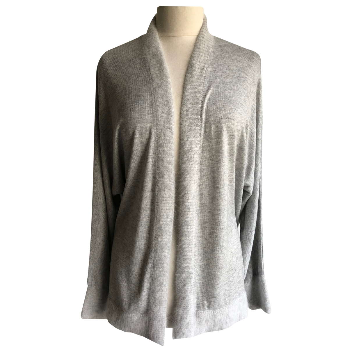 Non Signé / Unsigned \N Grey Knitwear for Women 46 FR