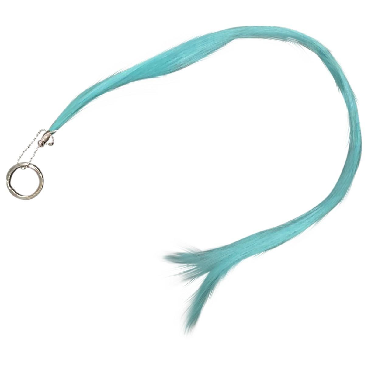 Maison Martin Margiela \N Blue Faux fur Phone charms for Women \N