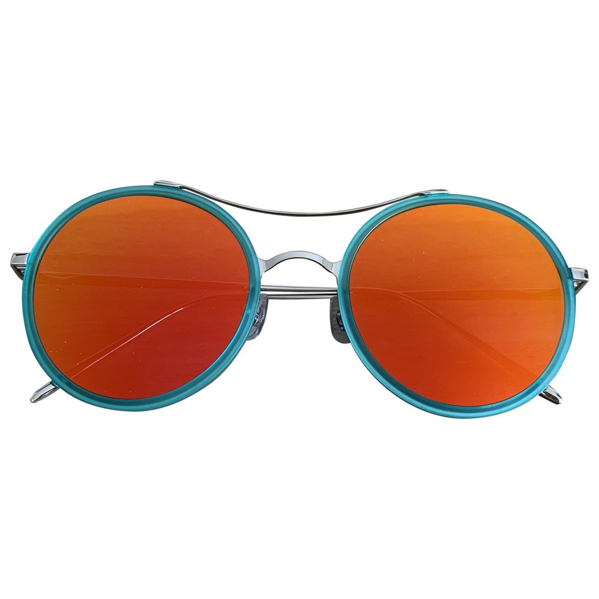 Gentle Monster \N Blue Metal Sunglasses for Women \N
