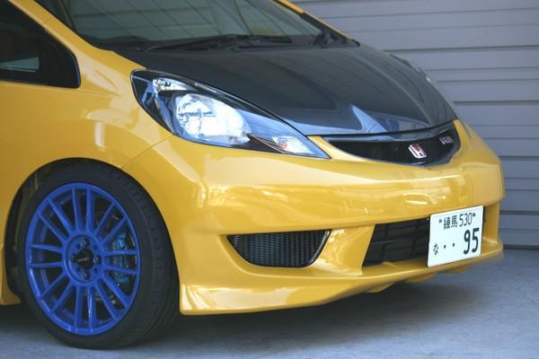 SPOON Sports 71101-GE8-010 Aero Bumper (Carbon Grill) No Paint Honda Fit GE8 09-13