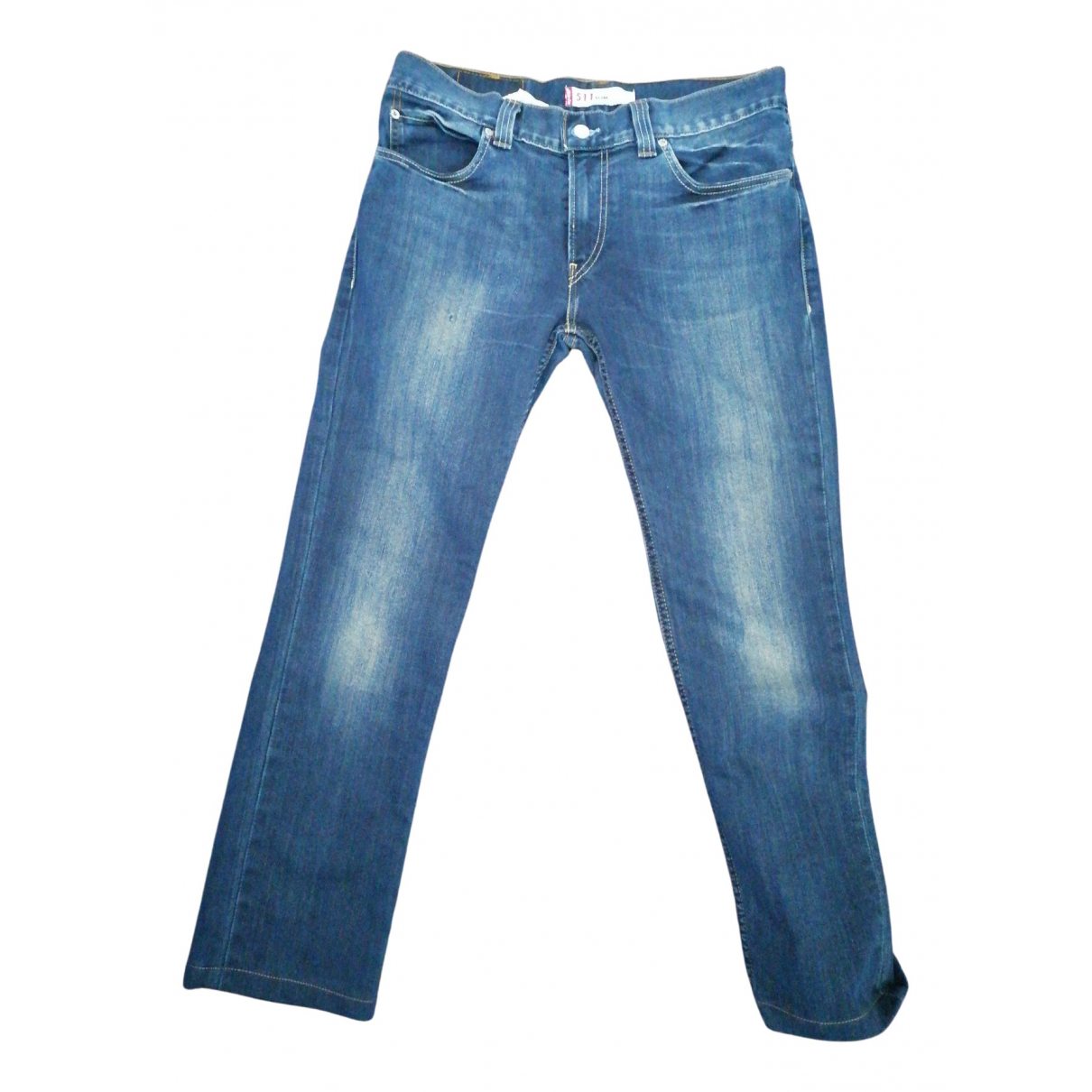Levi's 511 Blue Cotton Jeans for Men 34 US