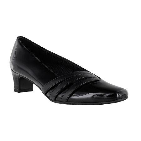 Easy Street Womens Entice Pumps Spike Heel, 7 Medium, Black