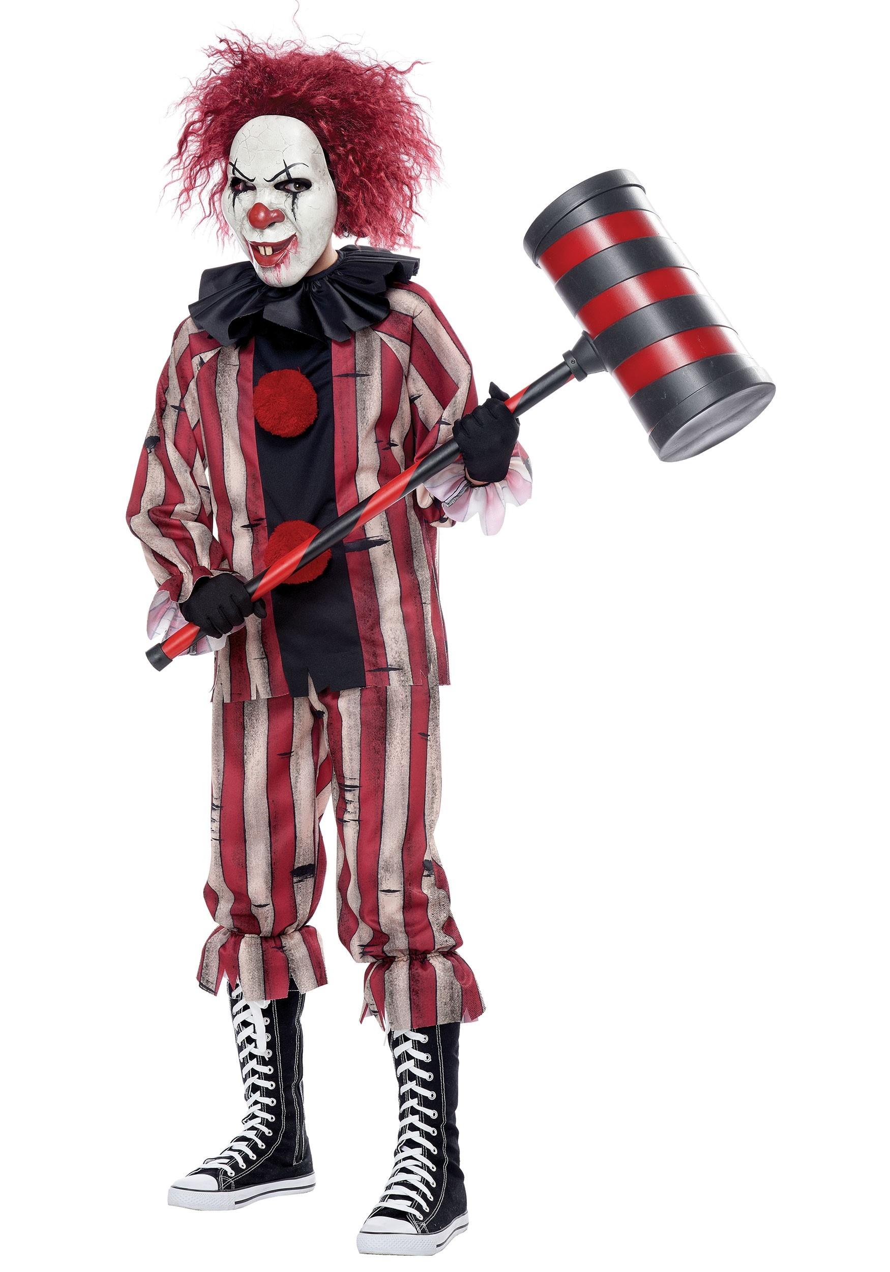 Nightmare Clown Costume for Boys
