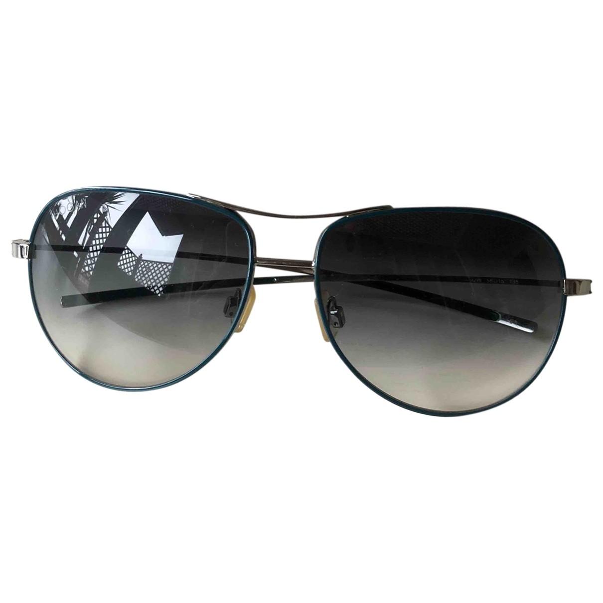 Hogan \N Blue Metal Sunglasses for Men \N