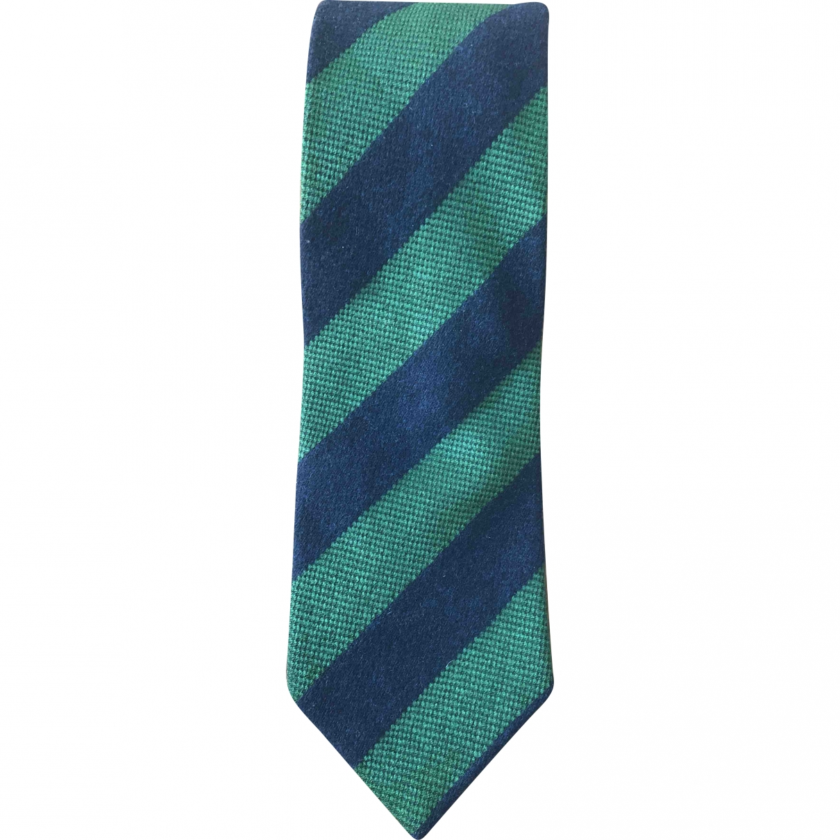 Etro \N Blue Cashmere Ties for Men \N