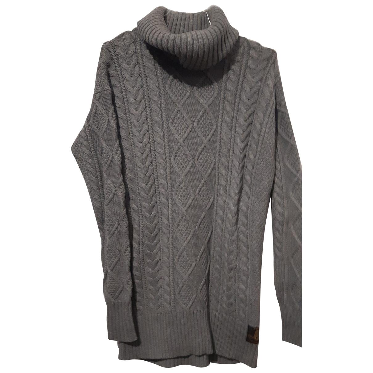 Polo Ralph Lauren \N Grey Cotton Knitwear for Women 40 IT