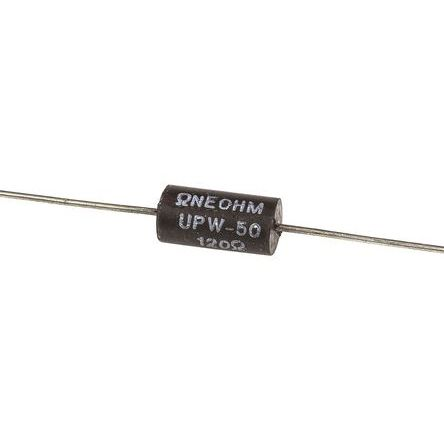 TE Connectivity 120Ω Wire Wound Resistor 0.5W ±0.1% UPW50B120RV