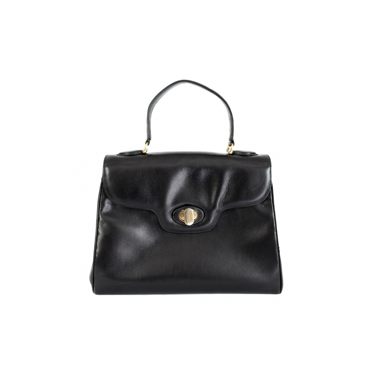 Fratelli Rossetti \N Black Leather handbag for Women \N