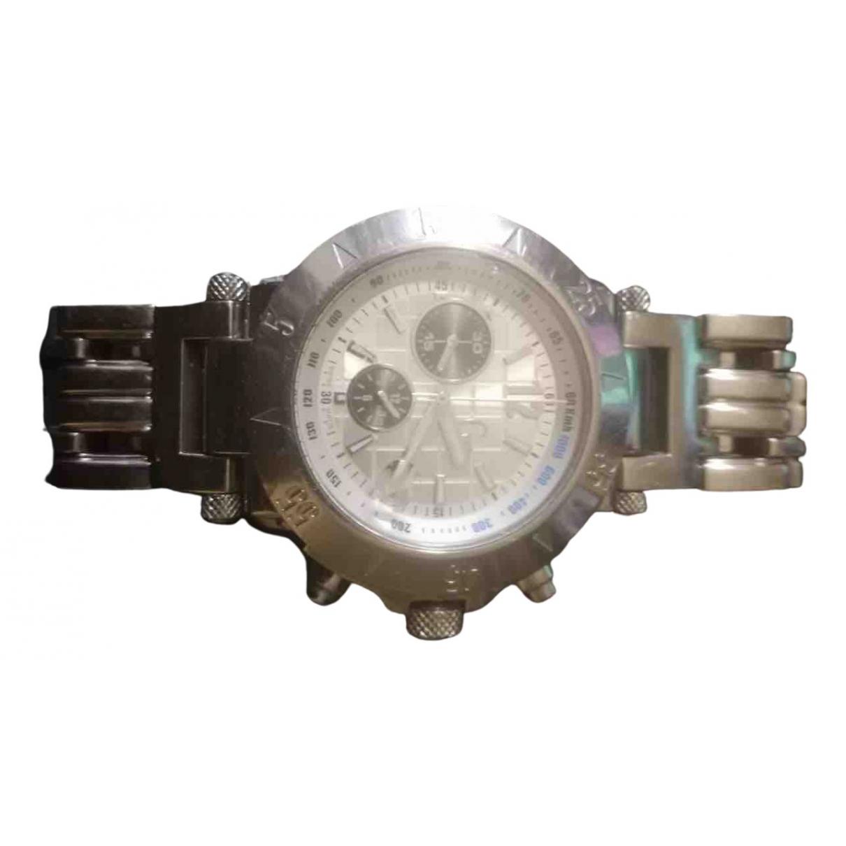 Guess \N Silver Steel watch for Women \N