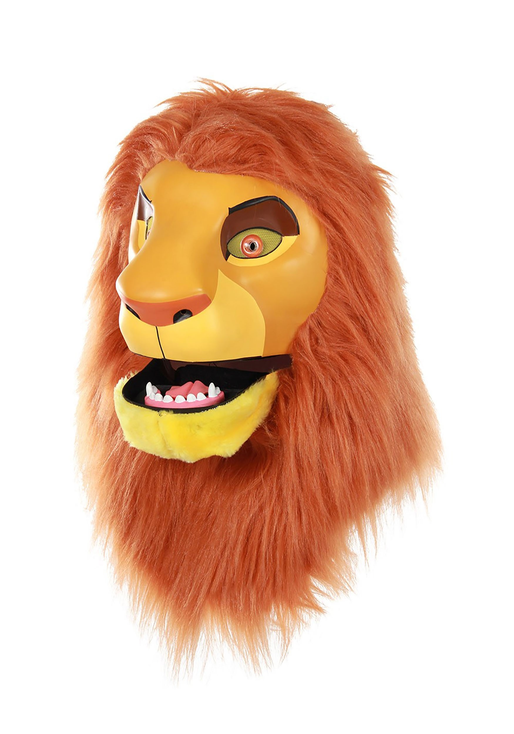 Disney The Lion King Simba Detailed Mouth Mover Mask